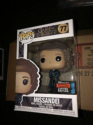Funko Pop Game Of Thrones Missandei 77 NYCC Exclusive