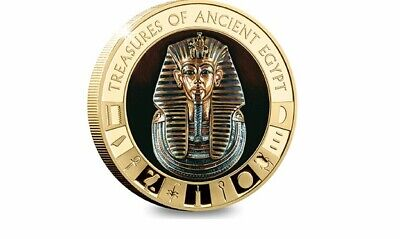 The Ancient Egypt Gold-plated Tutankhamun Coin