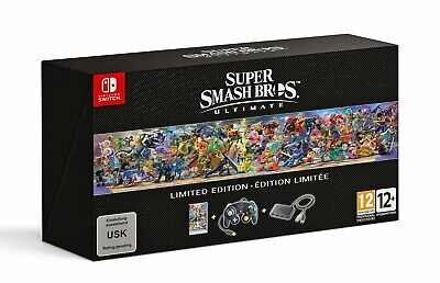 Super Smash Bros Ultimate Limited Edition For Nintendo Switch