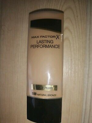 New Max Factor Lasting Performance Foundation In Natural Bronze 109