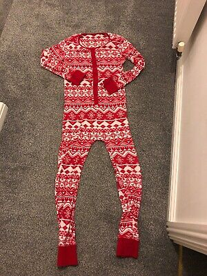 Girls Next Christmas Print All In One Age 11 Yrs