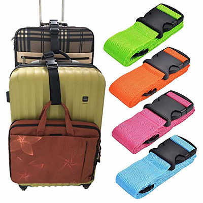Add A Bag Luggage Strap Accessories for Travel Suitcase Belt Adjustable Stacker