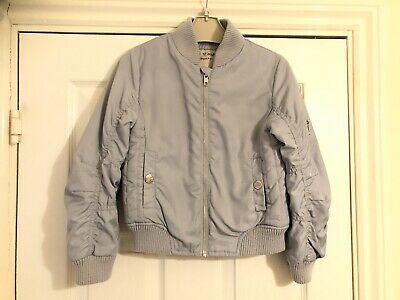 Girls Age 6 NEXT Bomber Jacket Immaculate Condition 💞