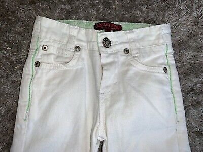 Baby Girls Clothes ted baker white jeans age 12-18 months
