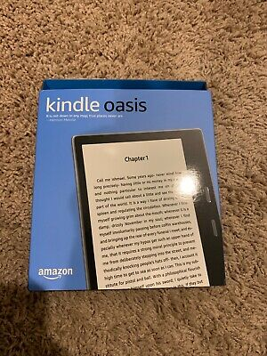 "Preowned Amazon Kindle Oasis E-reader 9th Gen 7"" WiFi 32GB - Graphite"
