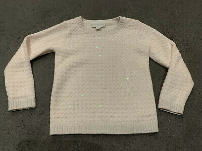 The Little White Company - age 2-3 Pale Pink Jumper
