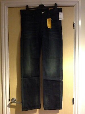 """Boys 14+ Relaxed Jeans @ 32""""waist 30"""" Leg From H&M"""