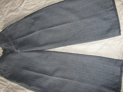Marks And Spencer Boys Grey Trousers Aged 4 Years Worn But In Good Condition