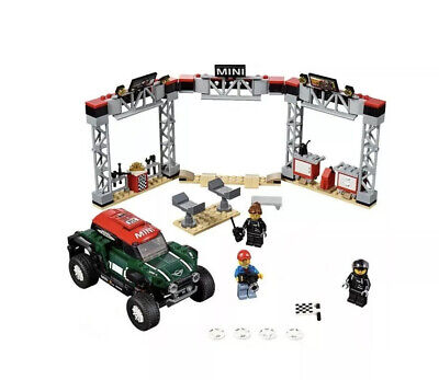 LEGO Speed Champions 2018 MINI John Cooper Works & pit stop station (from 75894)