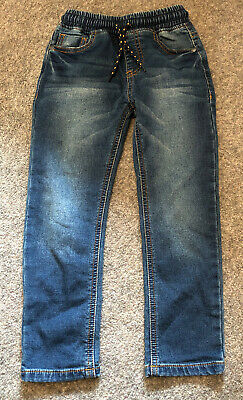CH80 Next Blue Jeans, Draw String Waist Size 5 Years
