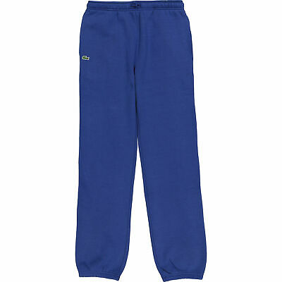New Lacoste Blue Boys Girls Jogging Bottoms Pants Age 16 Bnwt Rrp £59.99