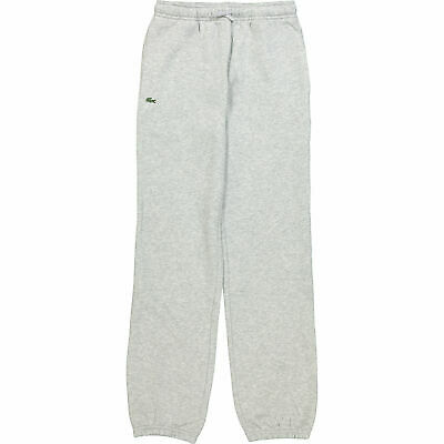 New Lacoste Grey Boys Girls Jogging Bottoms Pants Age 16 Bnwt Rrp £59.99