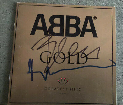 "ABBA Benny & Bjorn Signed ""Gold"" CD Booklet"