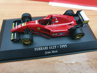 Ferrari F1 412T Jean Alesi 1995 - Scala 1:43 - DeAgostini F1 Collection