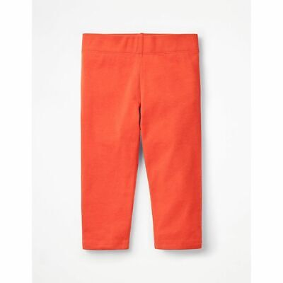 Boden Cropped Leggings - Tropical Coral