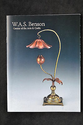 W.a.s Benson Arts & Crafts Metalware Copper Lamps