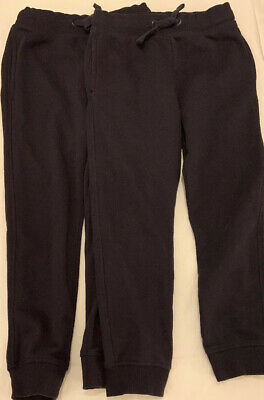 Boy's Navy F&F Jogging Bottoms Trousers. Age 8-9 VGC Rarely Worn X2