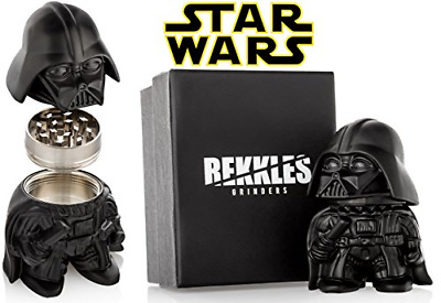 "Star Wars Herb Grinder, Darth Vader Grinder, Perfect Size 2"" 3-Pieces, With For"