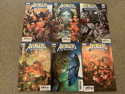 AVENGERS NO ROAD HOME #10-2ND PRINTING WK21