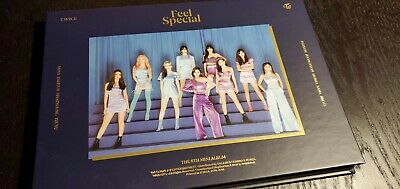 TWICE 8th Mini Album Feel Special Opened w/ Blue ver Tzuyu CD Chaeyoung sheet