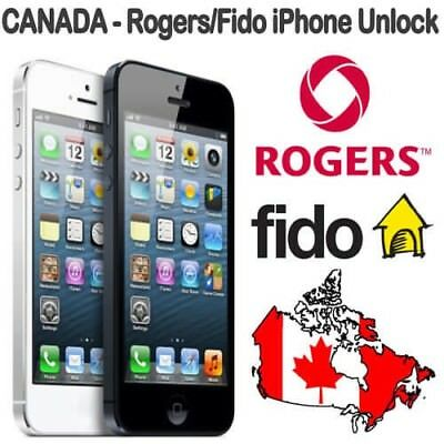 ROGERS FIDO IPHONE UNLOCK - Very Fast