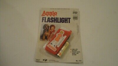 Vintage 1981 Little Orphan Annie Flashlight