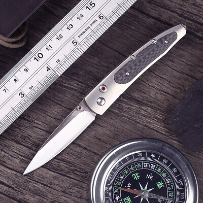 High Quality M390 Tactical Knife Rescue Tools Outdoor EDC Hunting Folding Knife