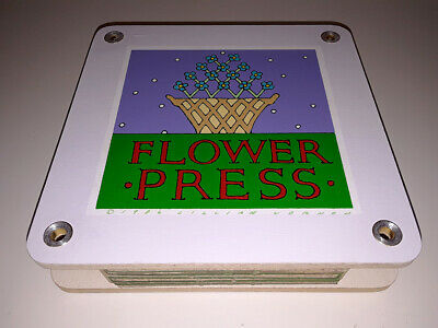 Lillian Vernon Leaf & Flower Press Crafting Vintage 1986 Boxed With Manual