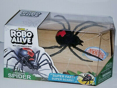 Robo Alive Crawling Spider Battery-Powered Robotic Toy By Zuru .Extremely Fun.