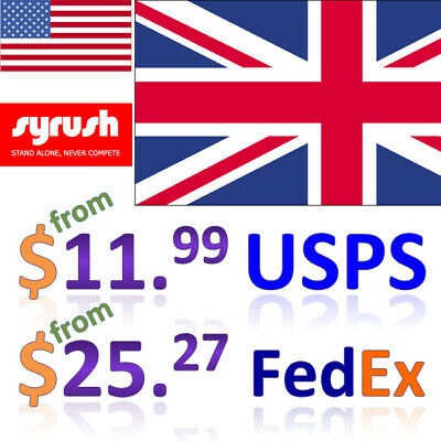 Package Forwarding Service from USA to England Syrush Address Free Consolidation