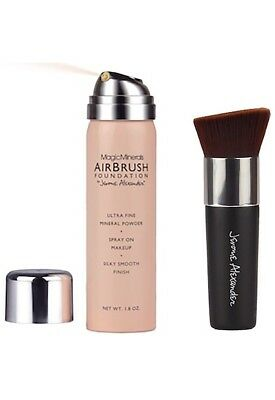 Jerome Alexander MagicMinerals AIRBRUSH Spray Foundation 2 Pc Kit Medium Shade
