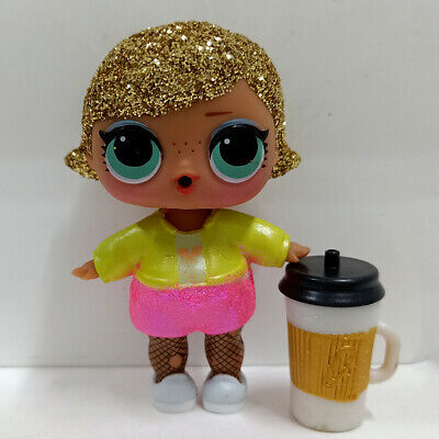 lol doll Big Sister Yellow Brown Hair DIY Red Dress Kids Birthday Gift