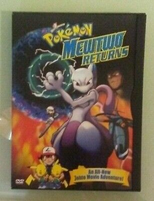 pokemon  MEWTWO RETURNS  DVD  genuine region 1