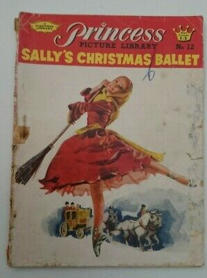 Princess Picture Library  Sally' Christmas Ballet No 12-  1961