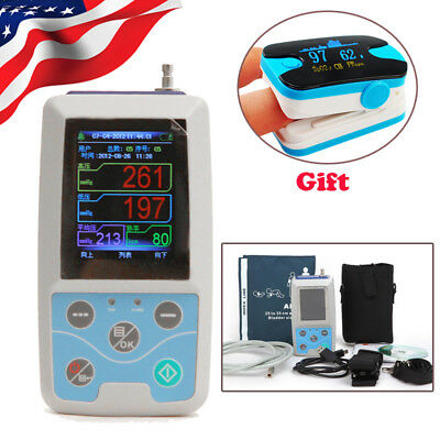 CONTEC ABPM50 BP Holter Ambulatory Blood Pressure Monitor Software 24hour Holter