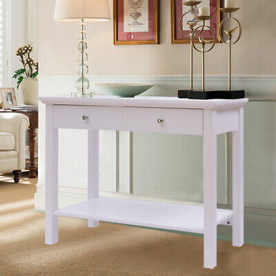 Cherry CH6098 Traditional Wooden Console Hallway Table with Storage Drawer