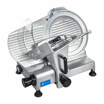 Electric Deli Meat Slicer Adjustable Thickness Cutting Blade Stainless Steel