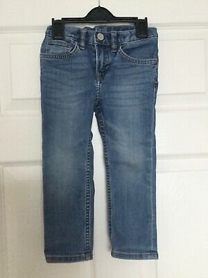 Boys jeans 2-3 years old slim fit Blue denim trousers used little ok condition