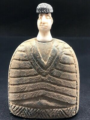 Excellent Museum Quality Extremely Rare Ancient Bactrian Idol Statue
