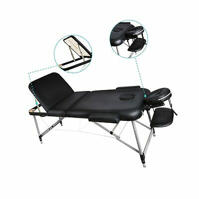 Naipo Massage Bed Beauty Table Couch Deluxe Professional 3 Section Portable B...