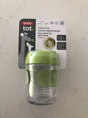 Oxo Tot Training Cup Green 12+ Months BNWT