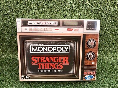 Stranger Things Monopoly Game Collector's Edition Board Game (New & Sealed)