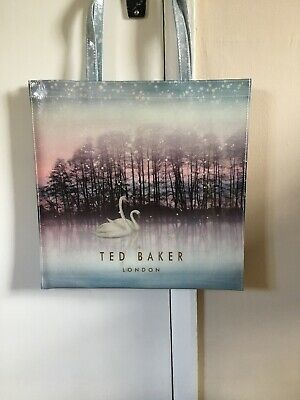 Ted Baker Large  PVC Shopper Design Sparkling Swan. New With Tags