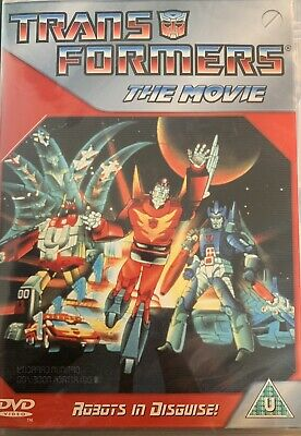 Transformers The Movie Animated New Sealed DVD