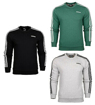 adidas Essentials 3 S Crew French Terry Sweatshirt Herren