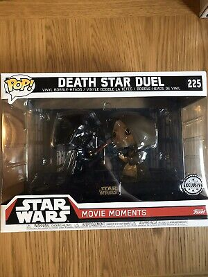 "Star Wars Movie Moments Death Star Duel Pack 2 3.75/"" Pop Vinyle Funko 225"