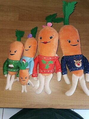 Aldi official Kevin the carrot family 2018