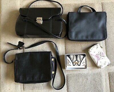 Leather / Plastic Handbag / Clutch Bag Job Lot