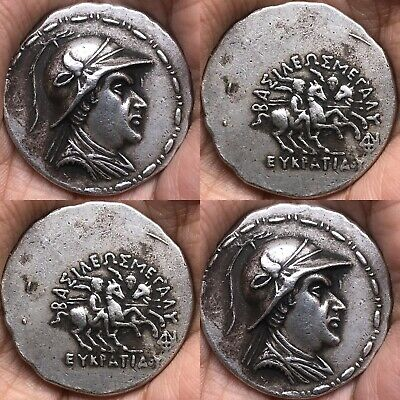 Ancient Solid Silver Old Roman King Wonderful Coin 20.00 Grams