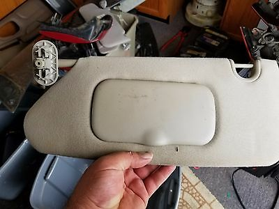 04-08 Chrysler Pacifica Driver Side Lh Left Sun Visor
